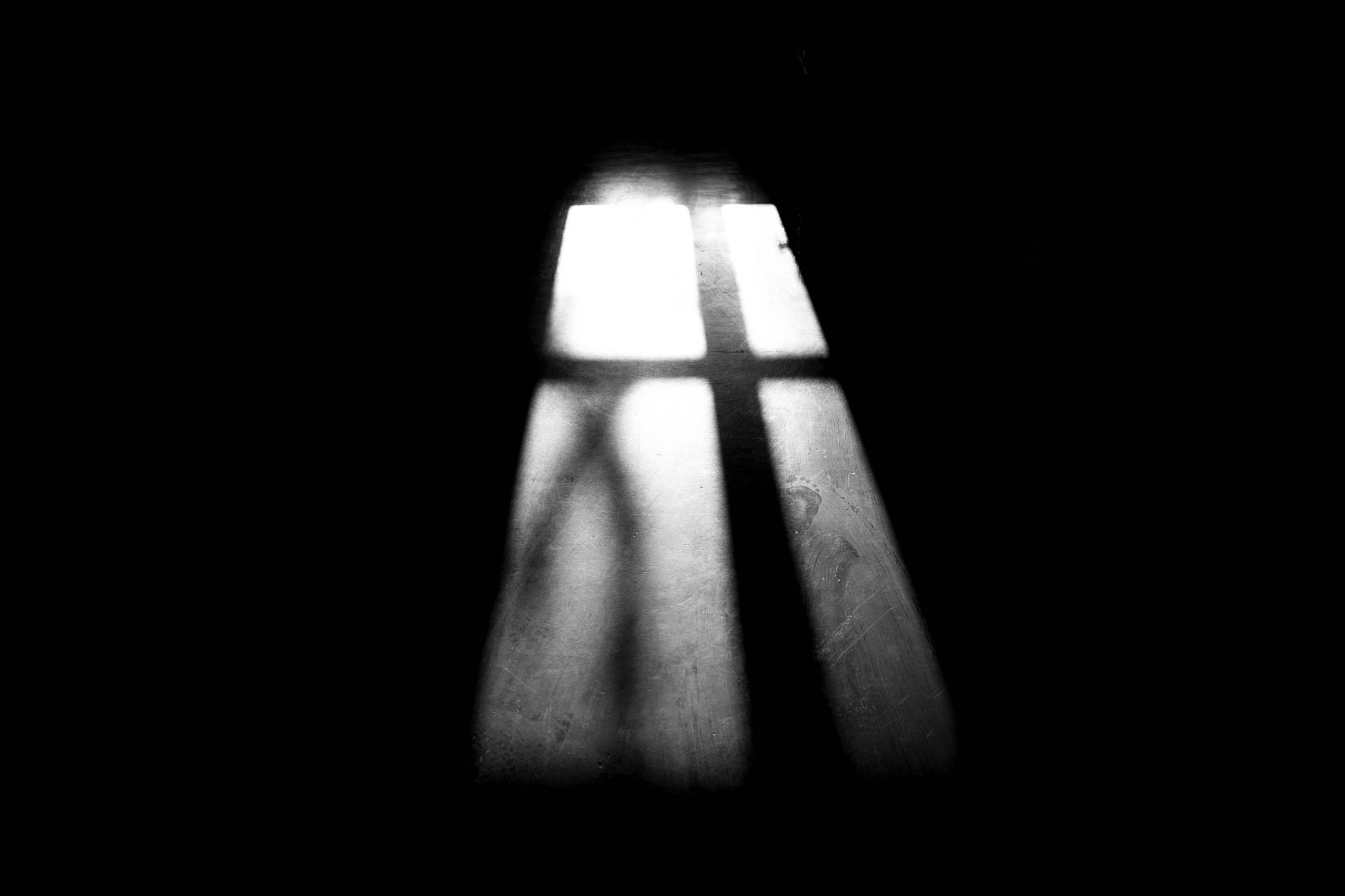 Shadow of a window,