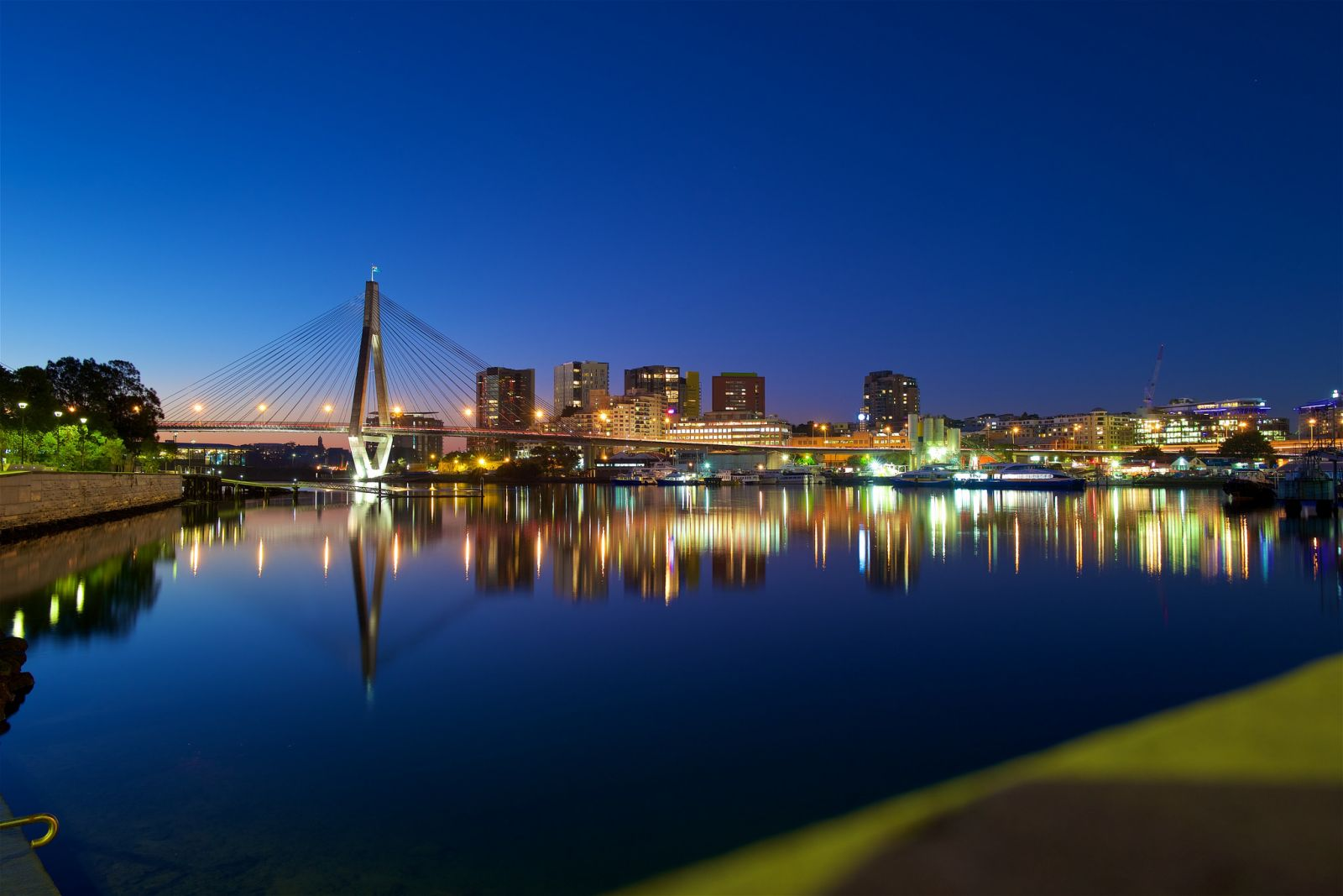 Blue Hour, Blackwattle Bay 1