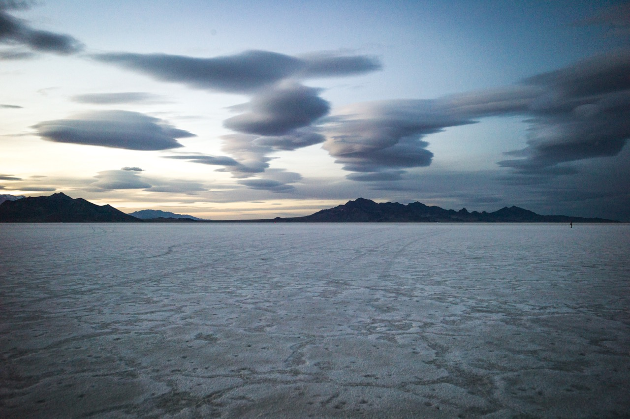 The Salt Flats After Sunset