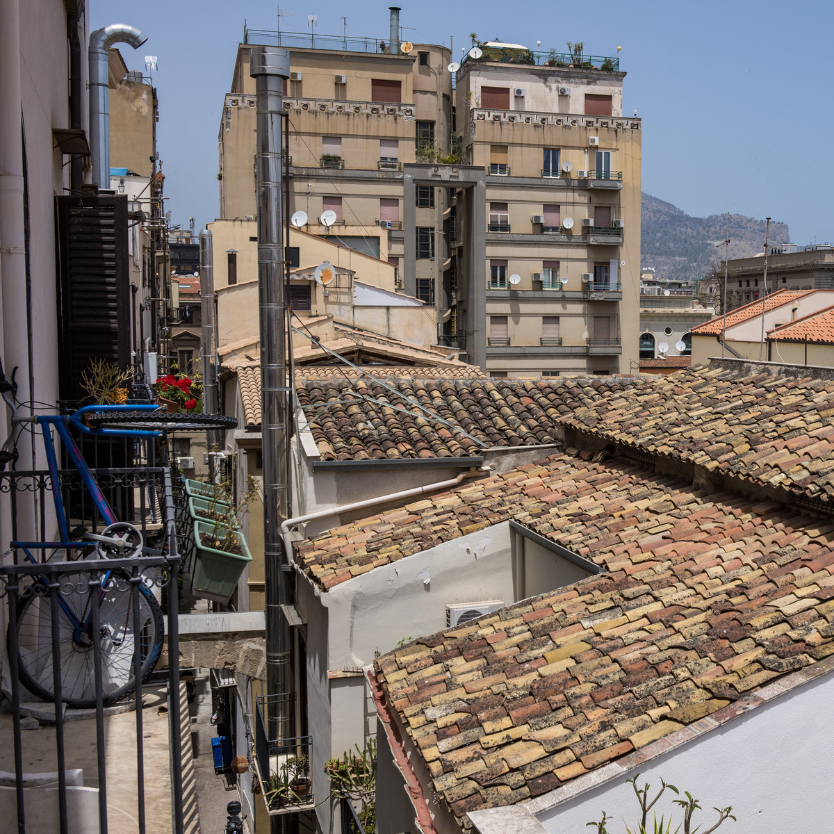 Palermo rooftops